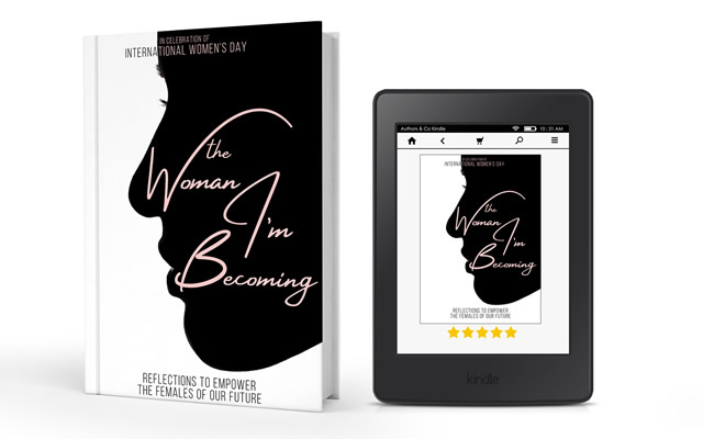 The Woman I'm Becoming is available in paperback and on Amazon Kindle