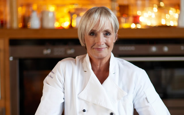 Lesley Waters, TV chef, will be in Charlton Horthorne in May