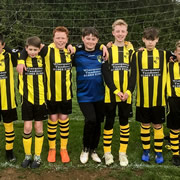 Wincanton Tandoori has sponsored Wincanton Warriors U12s with a brand new kit