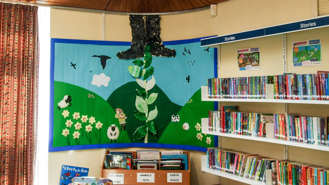 Jack and the Beanstalk at Wincanton Library
