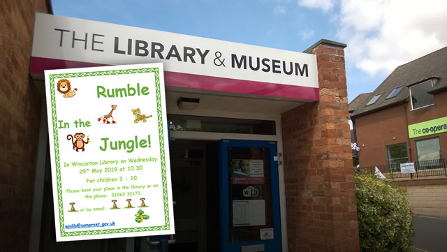 Rumble in the Jungle at Wincanton Library
