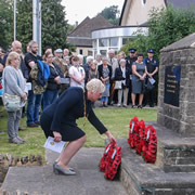 Wincanton marks the 75th anniversary of the crash of Old Faithful