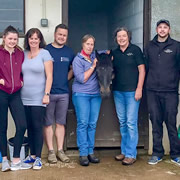 A team from Wincanton Racecourse rolled up their sleeves for the local RDA