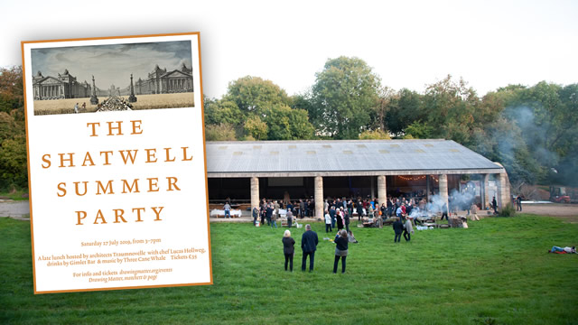 The Shatwell Summer Party venue and poster