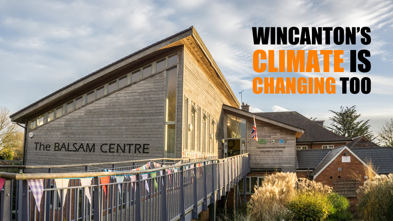 There's a new climate change action group meeting at the Balsam Centre in Wincanton