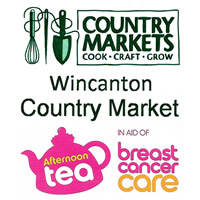 Wincanton Country Market Afternoon Tea in aid of Breast Cancer Care