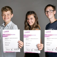 Distinction at LAMDA exams for Wincanton Youth Theatre members