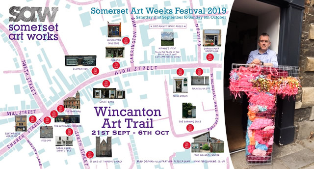 Wincanton Art Trail, 21st September - 6th October 2019