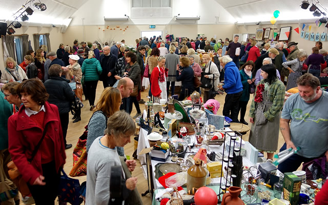 The Winter Fair 2018 (formerly the Hft Christmas Fair) at Wincanton Memorial Hall
