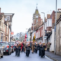 Wincanton's Remembrance Parade and service 2019