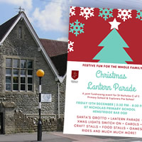 A Christmas Fair supporting schools in Henstridge