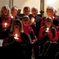 A Christmas concert by the Pilgrim Singers