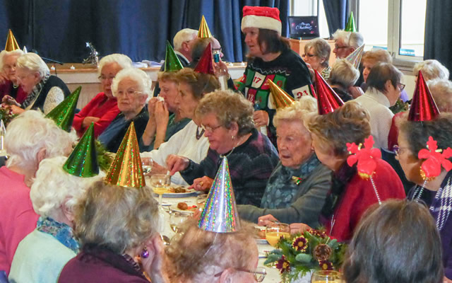 Wincanton Over-70s Christmas Lunch 2019