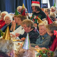 Wincanton Over-70s Christmas Lunch