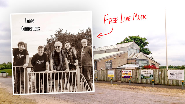 Loose Connections live and free at Wincanton Sports Ground
