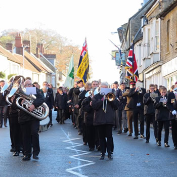 Wincanton Silver Band will represent in Torquay on 14th March