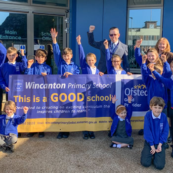 Ofsted: Wincanton Primary is a GOOD school!
