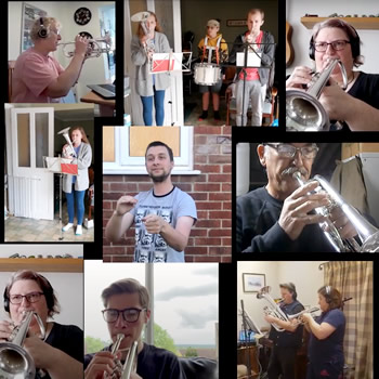 It takes more than a lockdown to stop Wincanton Silver Band