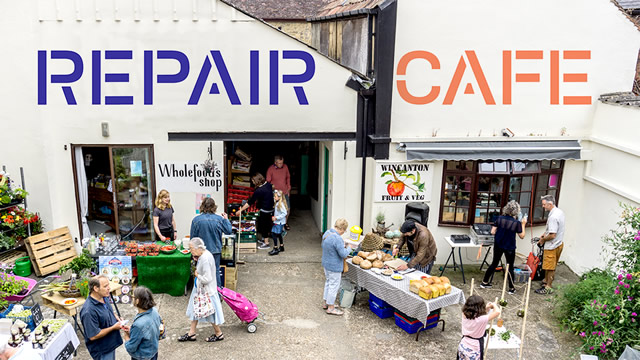 Repair Cafe Wincanton will be opening in Cole's Yard soon