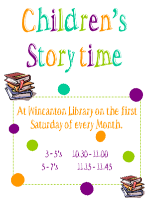 Children's Story Time at the Library